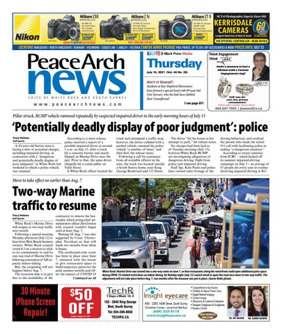 Peace Arch News, July 15, 2021
