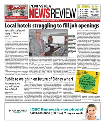 Peninsula News Review, July 15, 2021