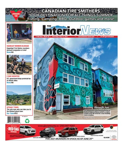 Smithers Interior News, July 15, 2021