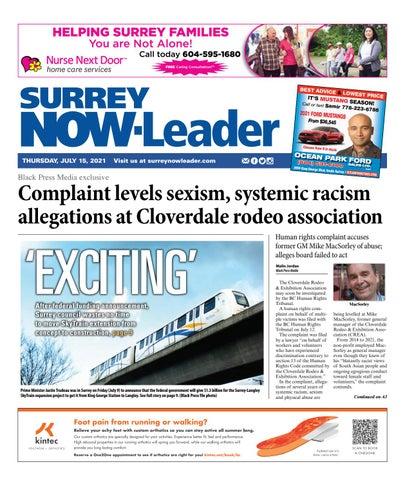Surrey Now Leader, July 15, 2021