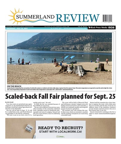 Summerland Review, July 15, 2021