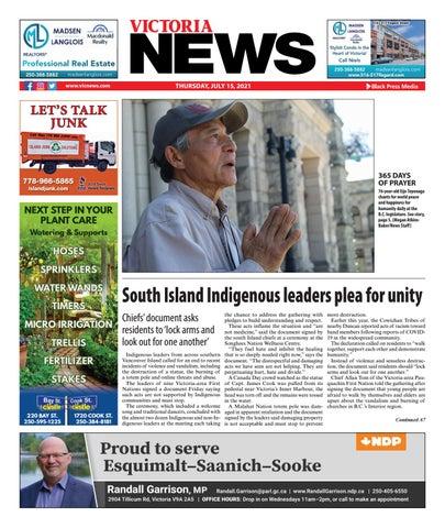 Victoria News, July 15, 2021
