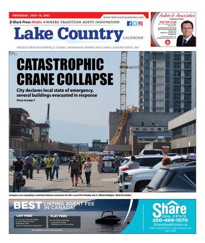 Lake Country Calendar, July 15, 2021