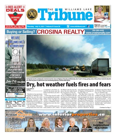 Williams Lake Tribune, July 15, 2021