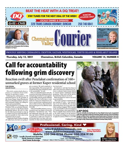 Chemainus Valley Courier, July 15, 2021