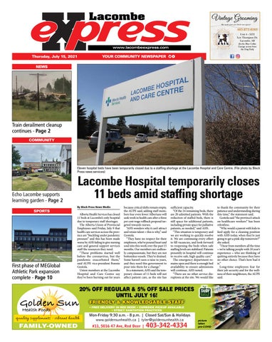 Lacombe Express, July 15, 2021