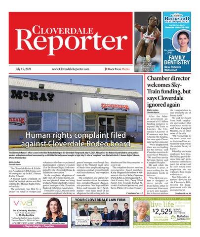 Cloverdale Reporter, July 15, 2021