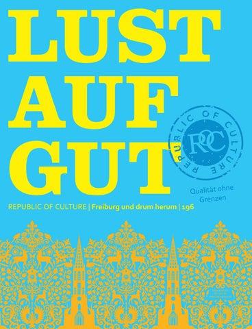 LUST AUF GUT Magazin | Freiburg Nr. 196