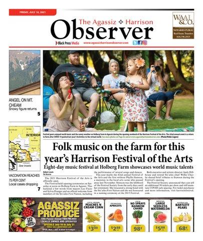 Agassiz Observer, July 16, 2021