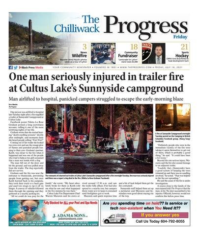 Chilliwack Progress, July 16, 2021