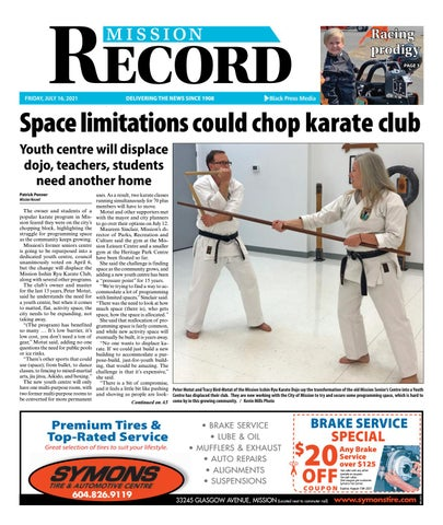 Mission City Record, July 16, 2021