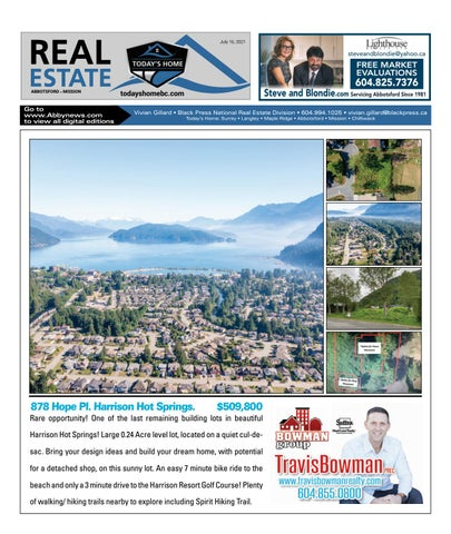 July 16, 2021 Real Estate Weekly - Abbotsford
