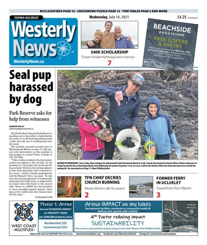 Tofino-Ucluelet Westerly News, July 14, 2021