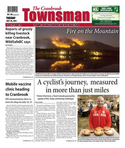 Cranbrook Daily Townsman, July 20, 2021