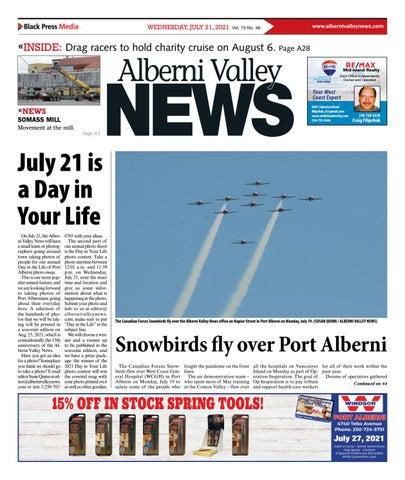 Alberni Valley News, July 21, 2021