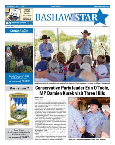 Bashaw Star, July 21, 2021