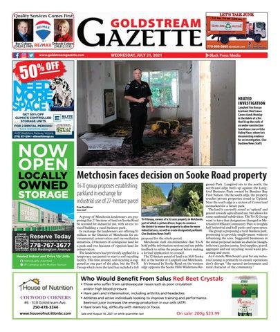 Goldstream News Gazette, July 21, 2021