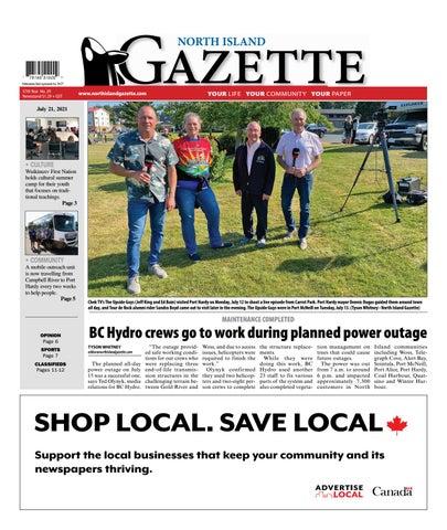 North Island Gazette, July 21, 2021