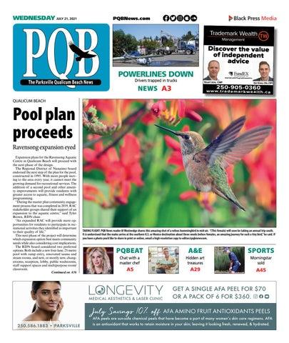 Parksville Qualicum Beach News, July 21, 2021