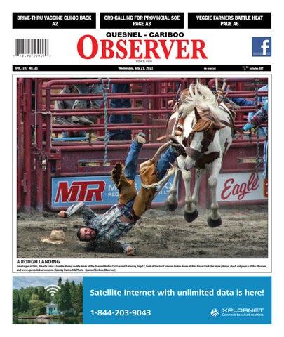 Quesnel Cariboo Observer, July 21, 2021