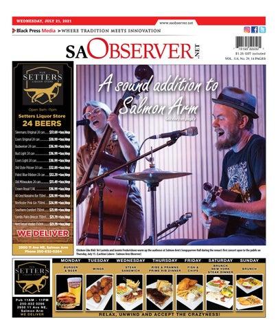 Salmon Arm Observer, July 21, 2021