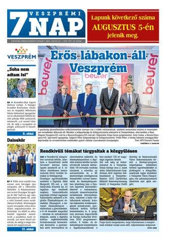 Veszprémi 7 Nap - 2021. 07. 22.
