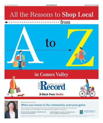 A to Z in the Comox Valley