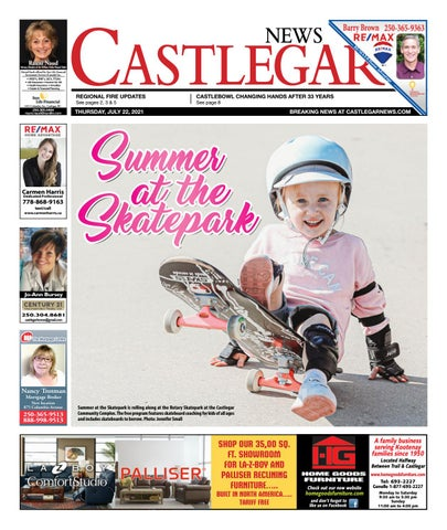 Castlegar News/West Kootenay Advertiser, July 22, 2021