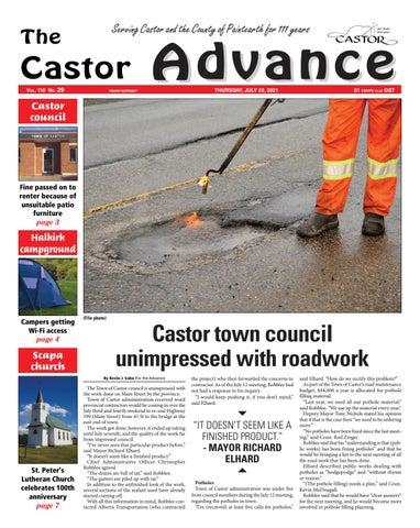 Castor Advance, July 22, 2021