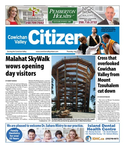 Cowichan Valley Citizen, July 22, 2021