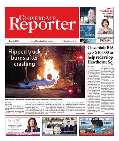 Cloverdale Reporter, July 22, 2021