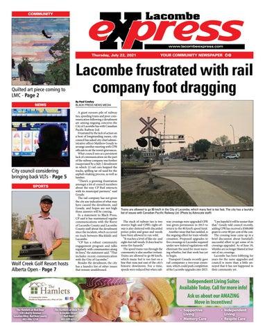 Lacombe Express, July 22, 2021