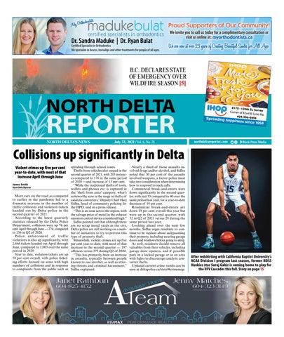 North Delta Reporter, July 22, 2021
