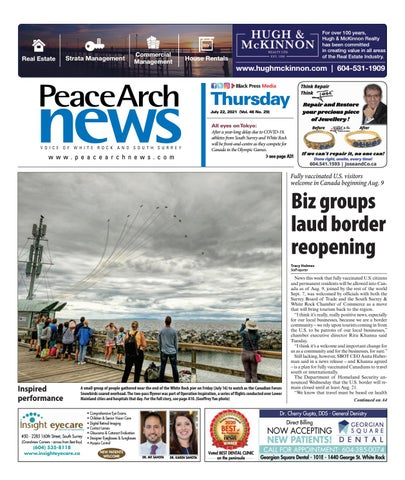 Peace Arch News, July 22, 2021
