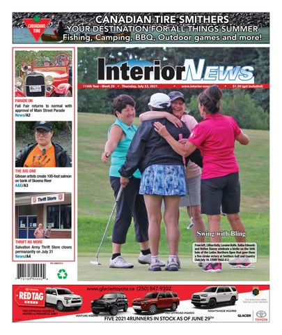 Smithers Interior News, July 22, 2021