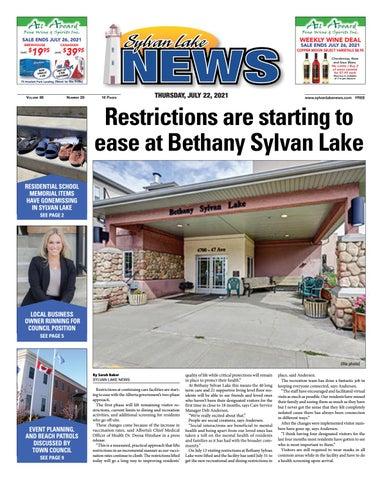 Sylvan Lake News, July 22, 2021
