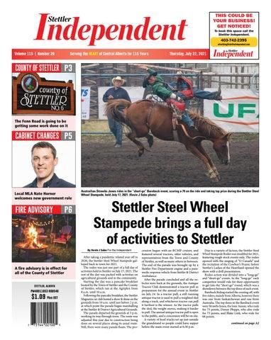 Stettler Independent, July 22, 2021