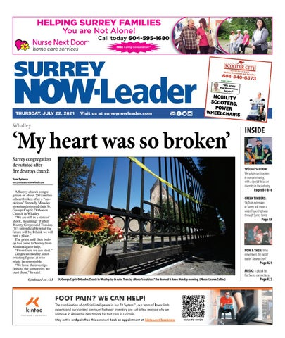 Surrey Now Leader, July 22, 2021