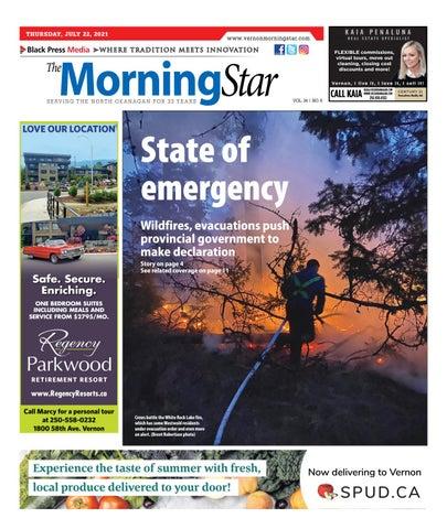 Vernon Morning Star, July 22, 2021