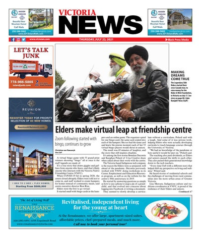 Victoria News, July 22, 2021