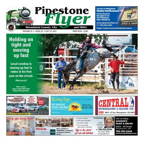 Wetaskiwin/Millet Pipestone Flyer, July 22, 2021