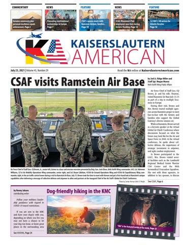Kaiserslautern American - July 23, 2021