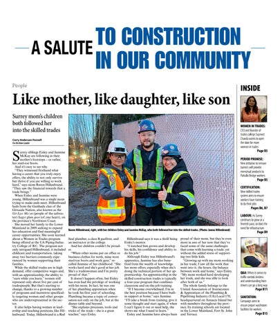 A Salute To Construction In Our Community