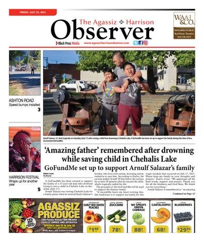 Agassiz Observer, July 23, 2021