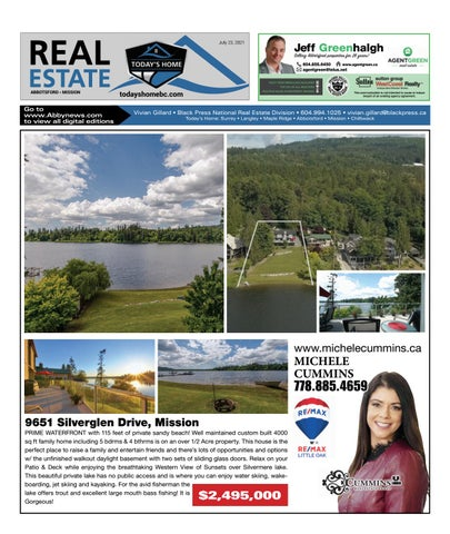 July 23, 2021 Real Estate Weekly - Abbotsford
