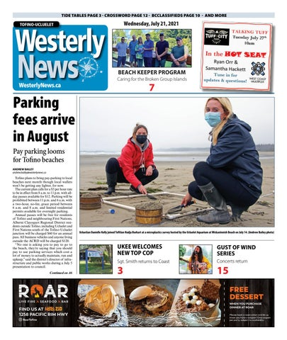 Tofino-Ucluelet Westerly News, July 21, 2021