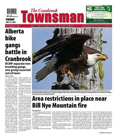 Cranbrook Daily Townsman, July 27, 2021