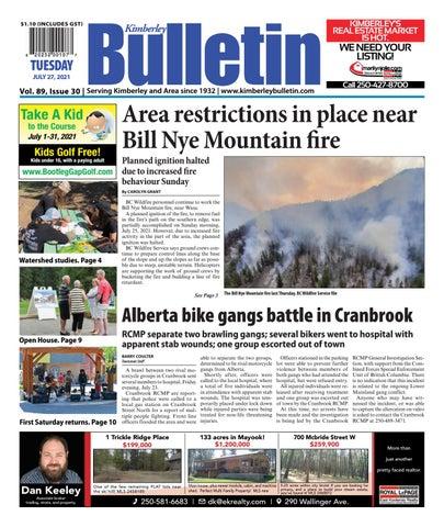 Kimberley Daily Bulletin, July 27, 2021