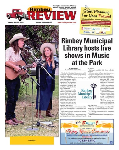 Rimbey Review, July 27, 2021