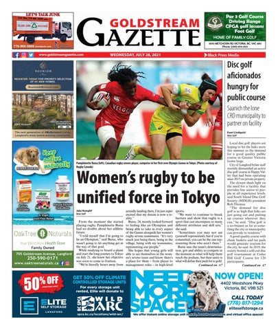 Goldstream News Gazette, July 28, 2021
